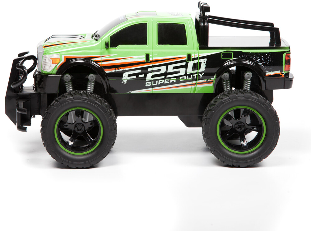 Friction Vehicles - 1:14 Ford F-250 Super Duty Friction Truck (One random color per transaction. Colors green, blue or red.)