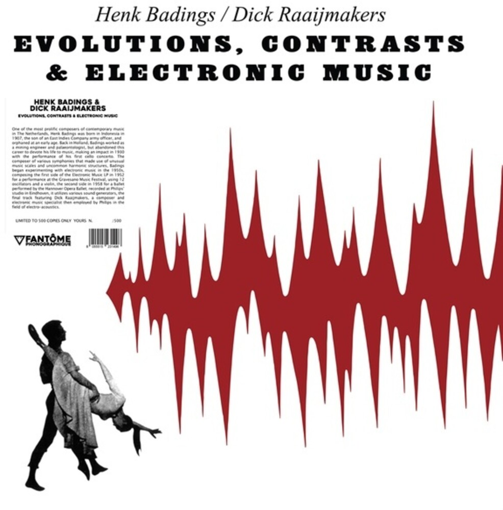 Henk Badings / Raaijmakers,Dick - Evolutions Contrasts & Electronic Music