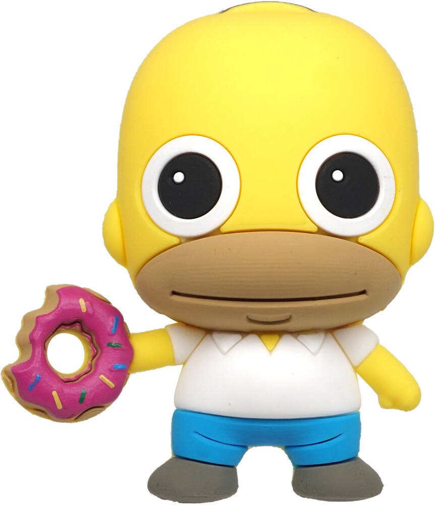Simpsons Homer with Donut 3D Foam Magnet - Simpsons Homer with Donut 3D Foam Magnet