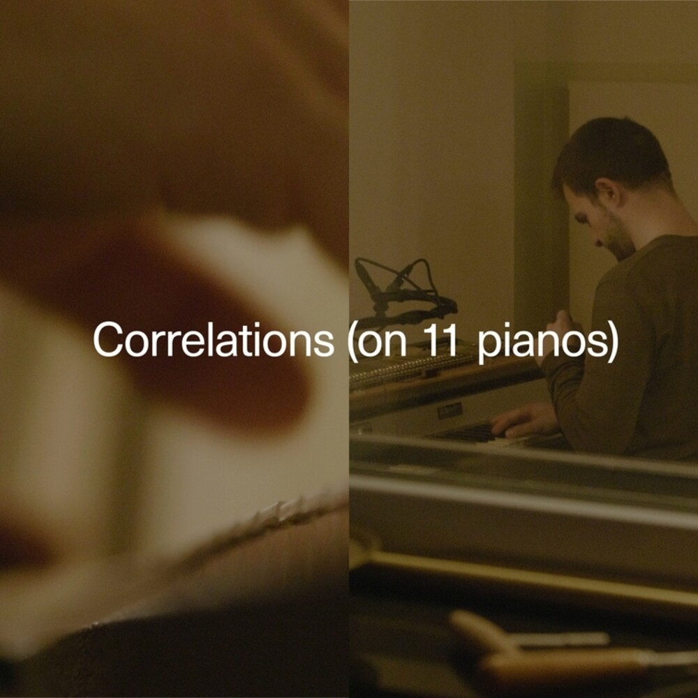 Carlos Cipa - Correlations (On 11 Pianos) (Dig)