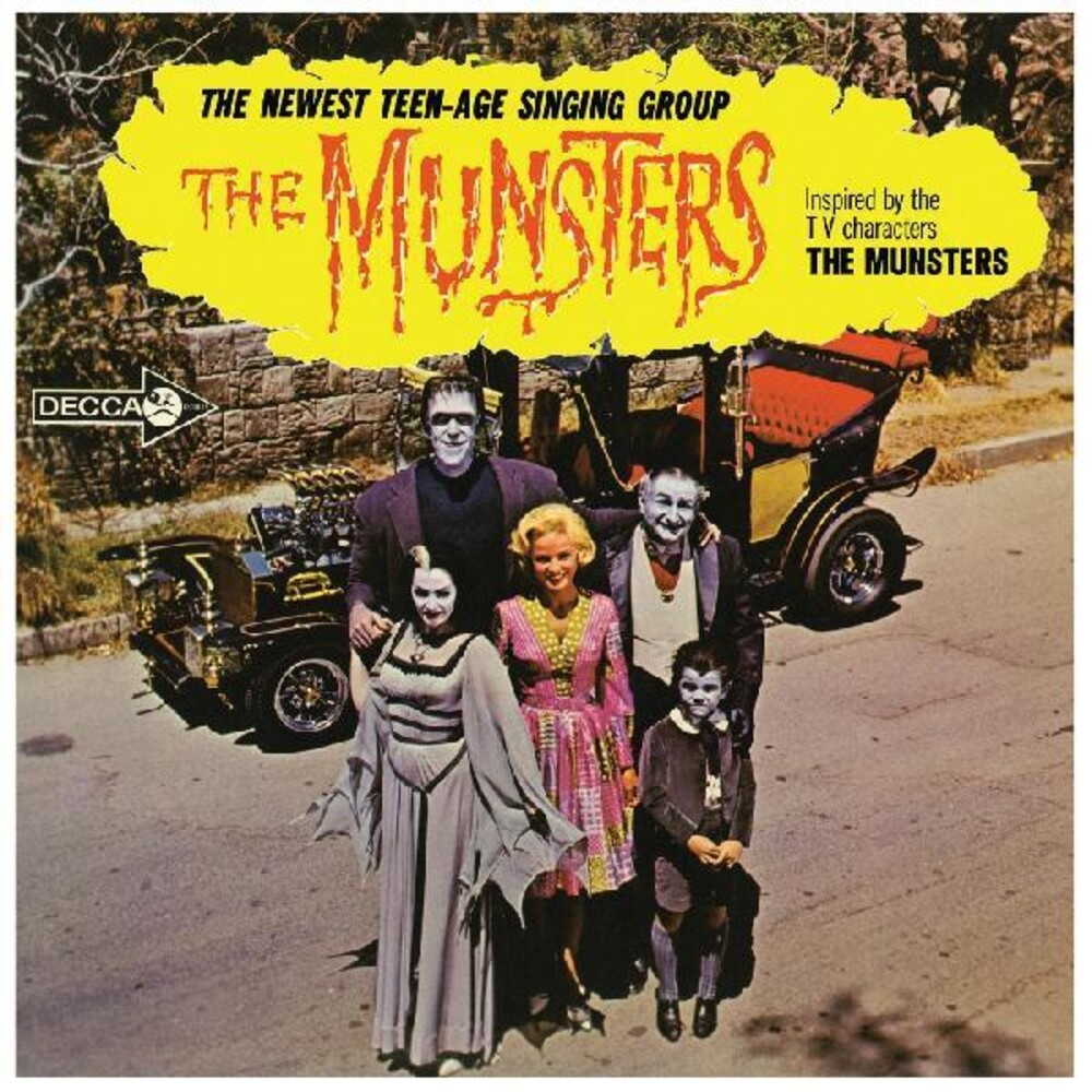 Munsters - Munsters (Blk) [Colored Vinyl] [Limited Edition] (Org)