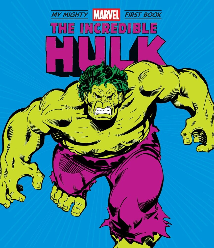 Marvel Entertainment - The Incredible Hulk: My Mighty Marvel First Book