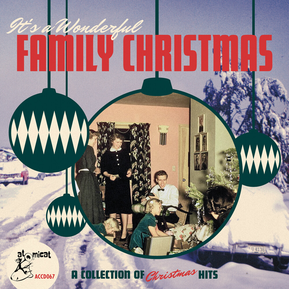 Its A Wonderful Family Christmas / Various - It's A Wonderful Family Christmas (Various Artists)