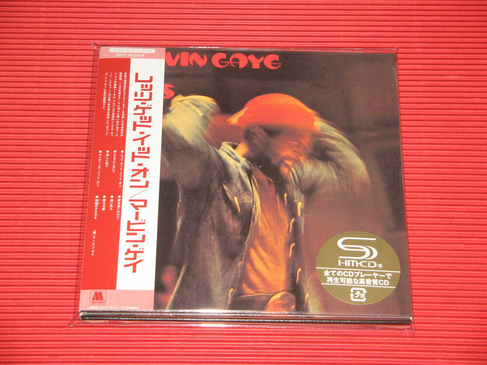 Marvin Gaye - Let's Get It On [Deluxe] (Jmlp) (Shm) (Jpn)