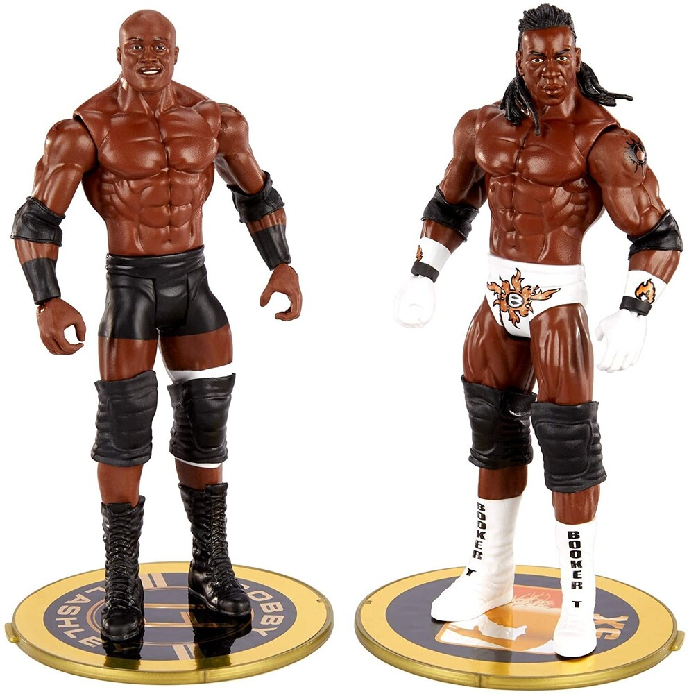 WWE - Mattel Collectible - WWE Champion Showdown: Bobby Lashley vs. King Booker