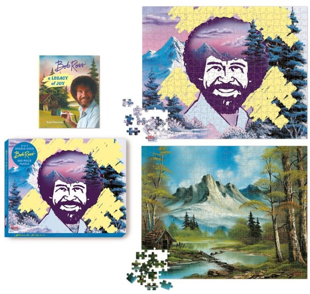 Pearlman, Robb - Bob Ross Happy Little 500-Piece Puzzle