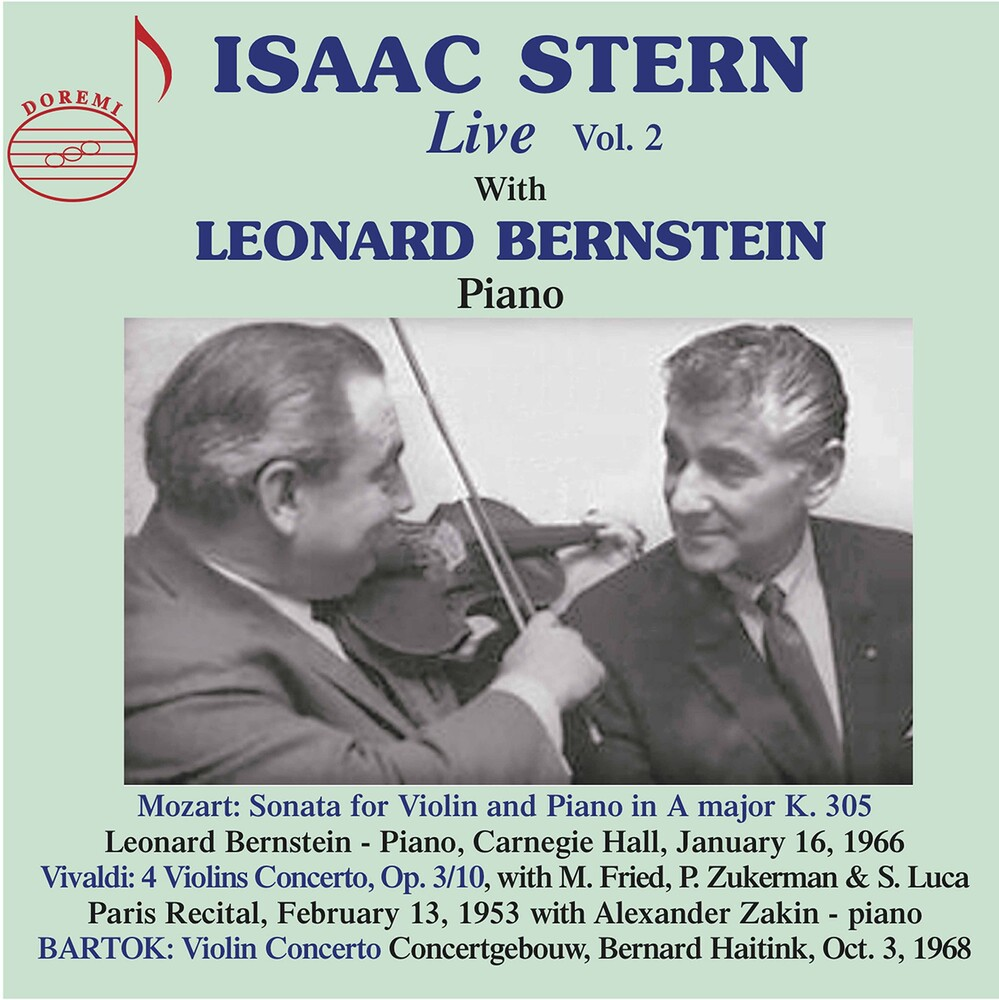 Isaac Stern - Isaac Stern Live 2