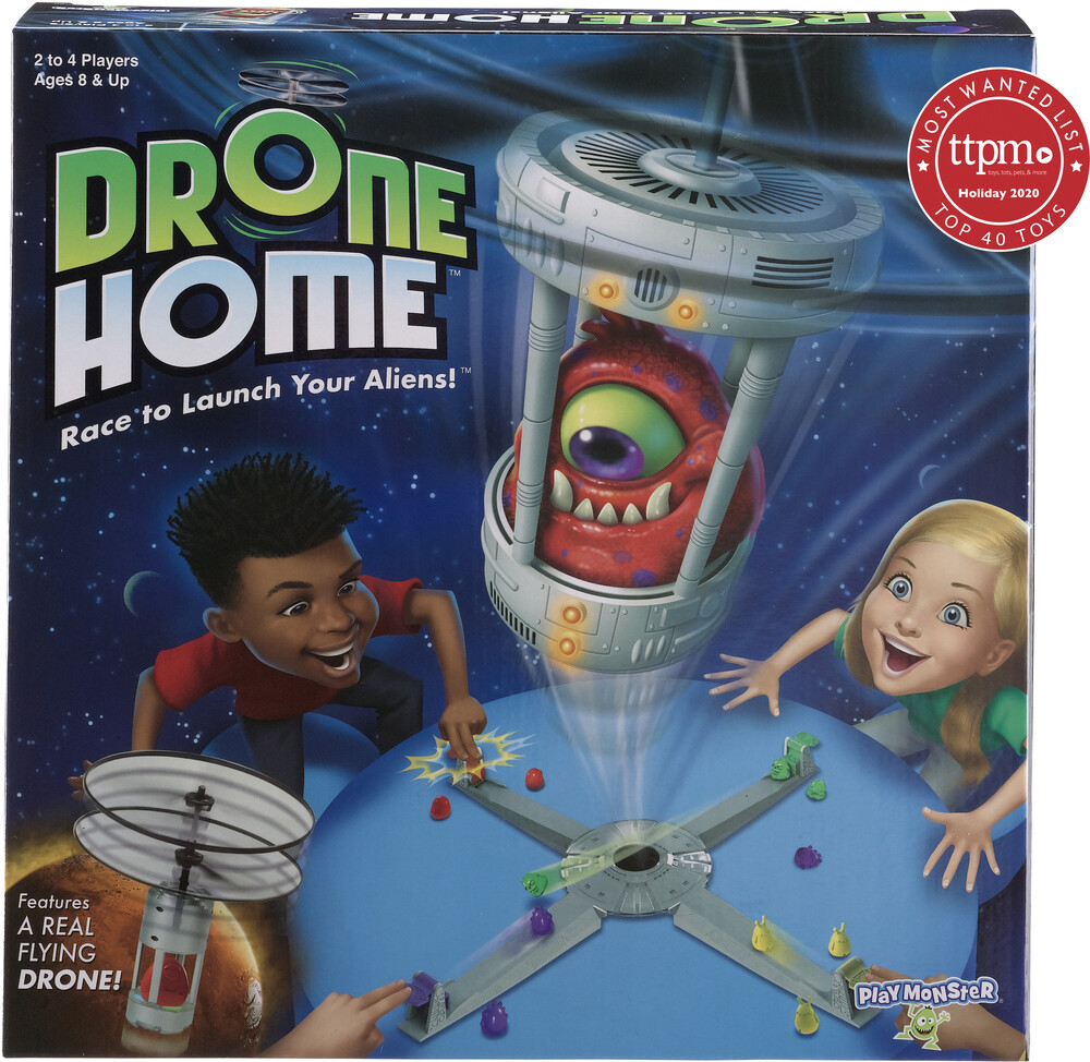Drone Home Race to Launch Your Aliens! - Drone Home Race To Launch Your Aliens!