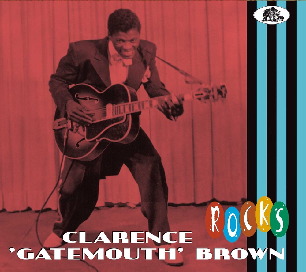 Clarence Brown  Gatemouth - Rocks [With Booklet] [Digipak]