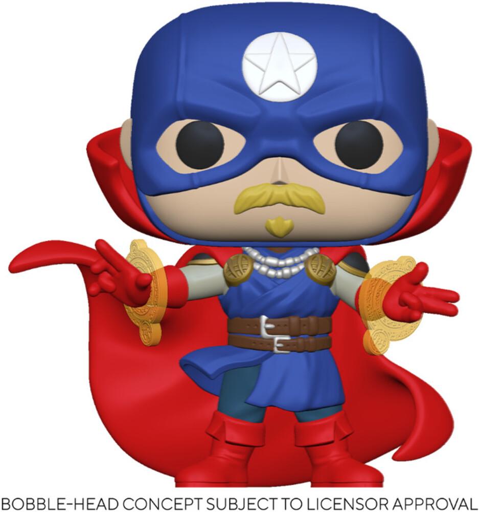 - FUNKO POP! MARVEL: Infinity Warps- Soldier Supreme