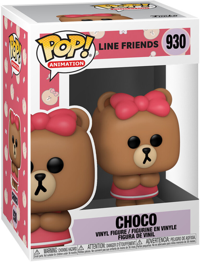 - FUNKO POP! ANIMATION: Line Friends- Choco