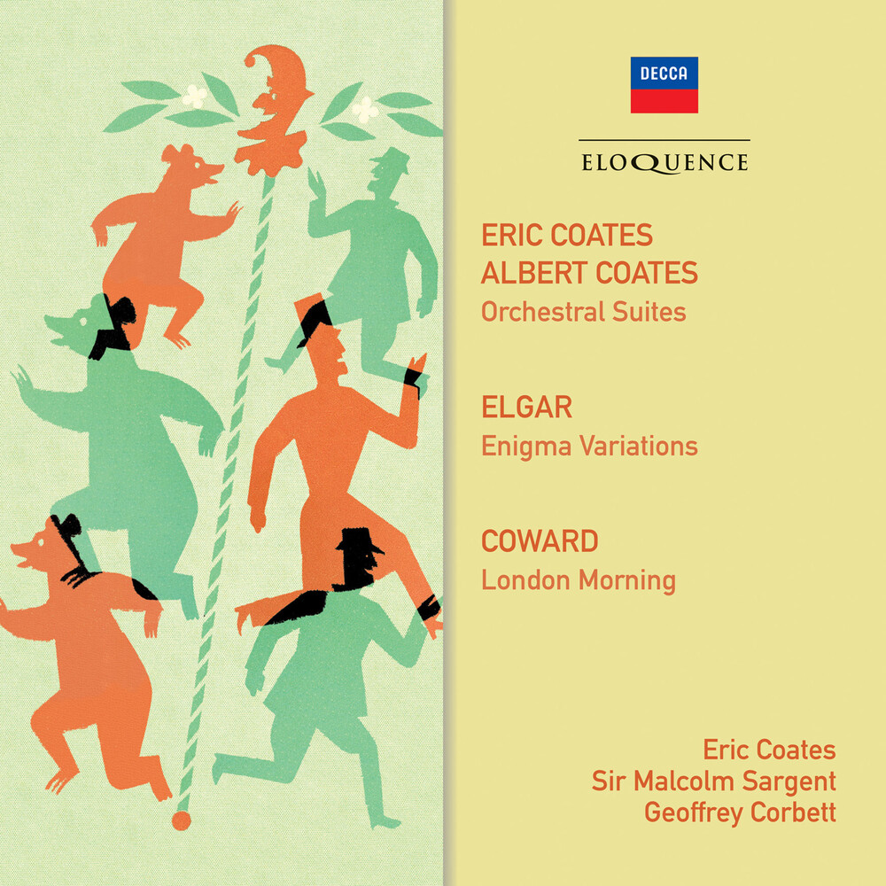Eric Coates  / Corbett,Geoffrey / Sargent,Malcolm - Coates Elgar Coward: Orchestral Music