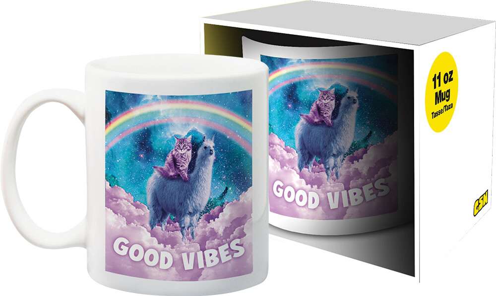 Random Galaxy Good Vibes 11Oz Boxed Mug - Random Galaxy Good Vibes 11oz Boxed Mug