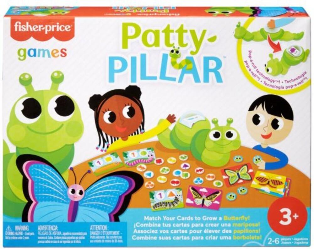 - Mattel Games - Preschool Patty-Pillar Game