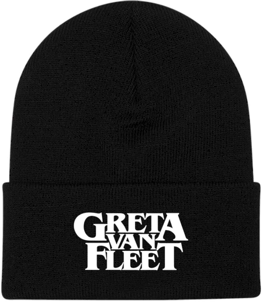 - Greta Van Fleet Logo Beanie (Blk) (Hat)