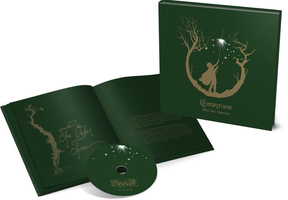 Empyrium - Uber Den Sternen (Cd Hardcover Book) (Bonus Track)