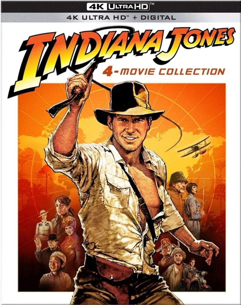 - Indiana Jones 4-Movie Collection