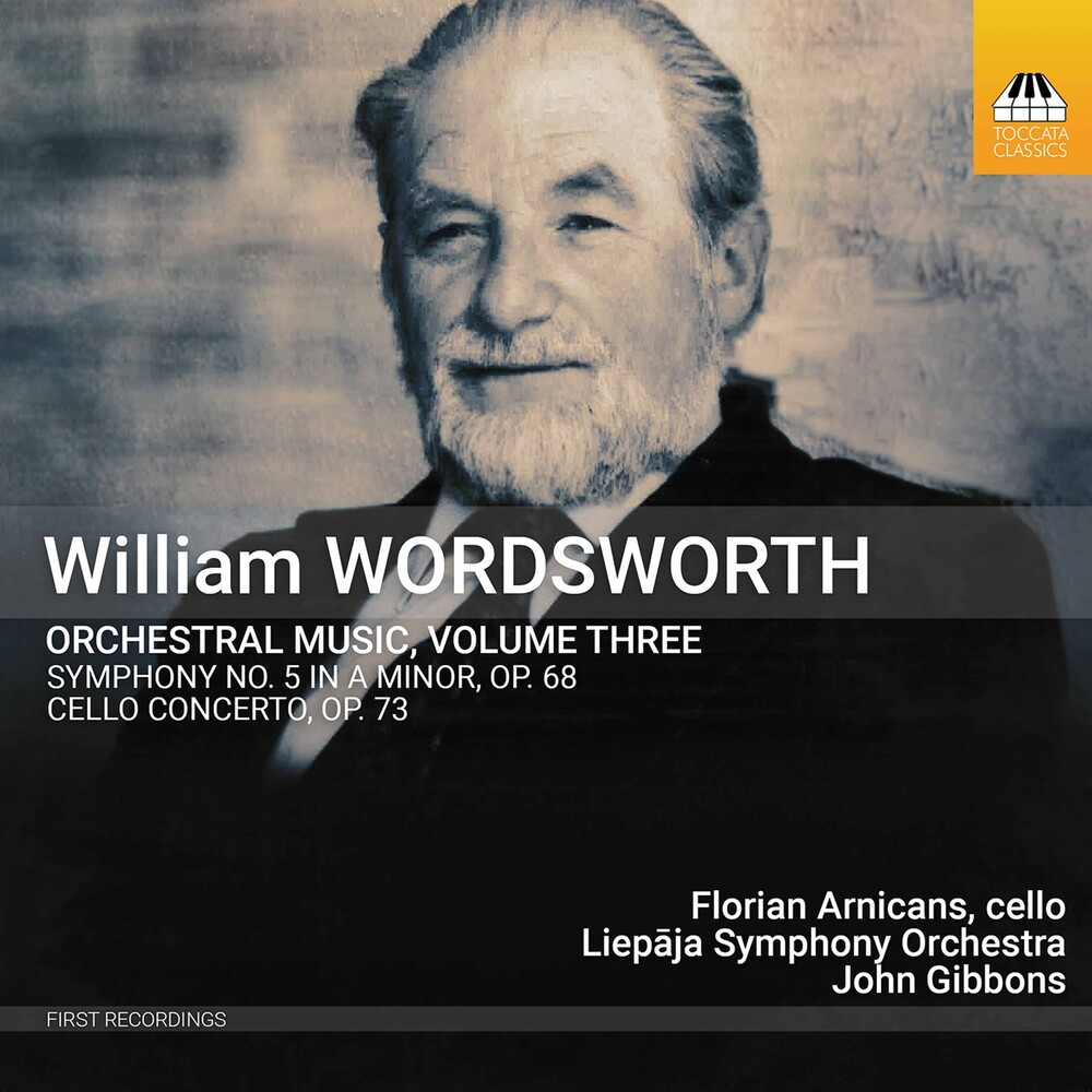 Wordsworth / Arnicans / Liepaja Symphony Orchestra - Orchestral Music 3