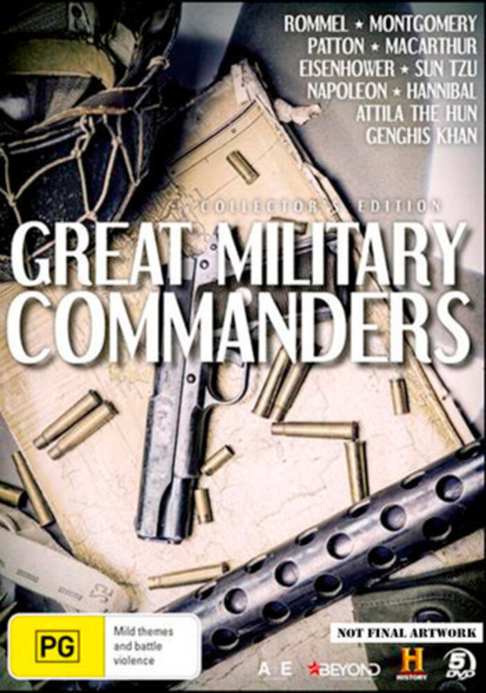 - Great Military Commanders (5pc) / (Aus Ntr0)