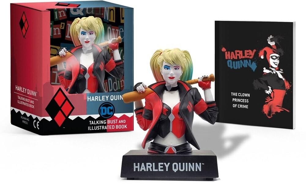 Steve Korte - Harley Quinn Talking Figure And Illustrated Book