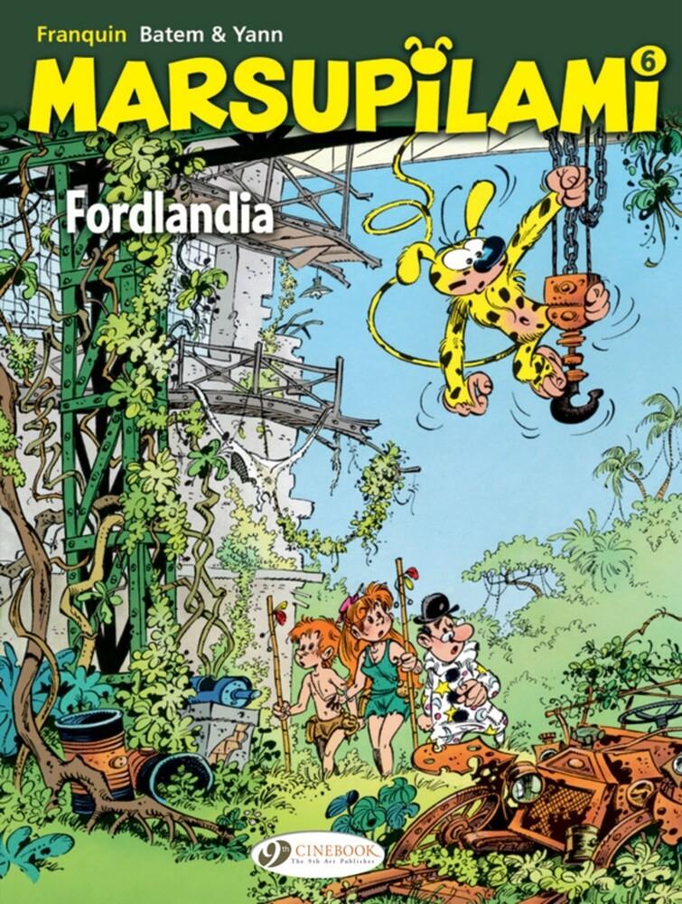 Franquin - Marsupilami 6 Fordlandia (Gnov) (Ppbk)