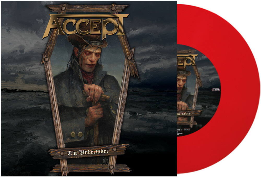 Accept - Undertaker (Red 7) [Colored Vinyl] [Limited Edition] (Red)