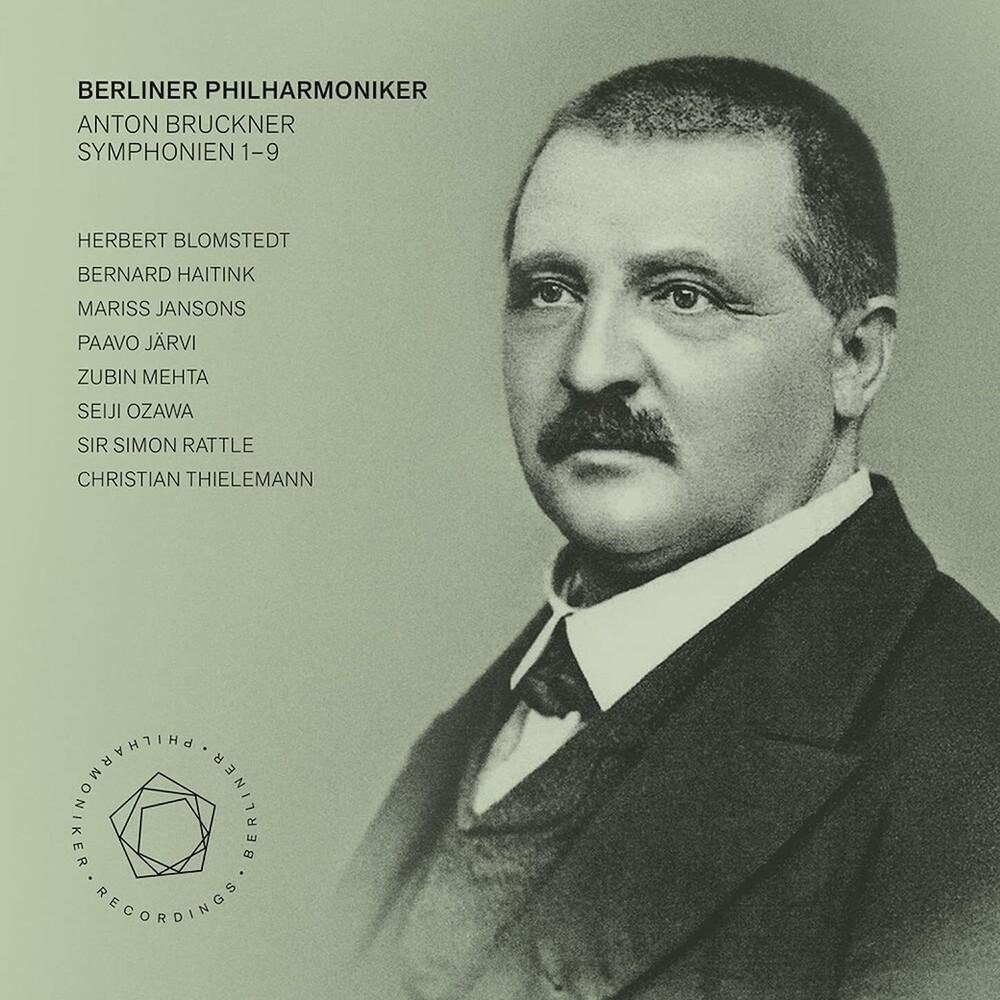 Bruckner / Berliner Philharmoniker - Symphonies 1-7 (Hybr)