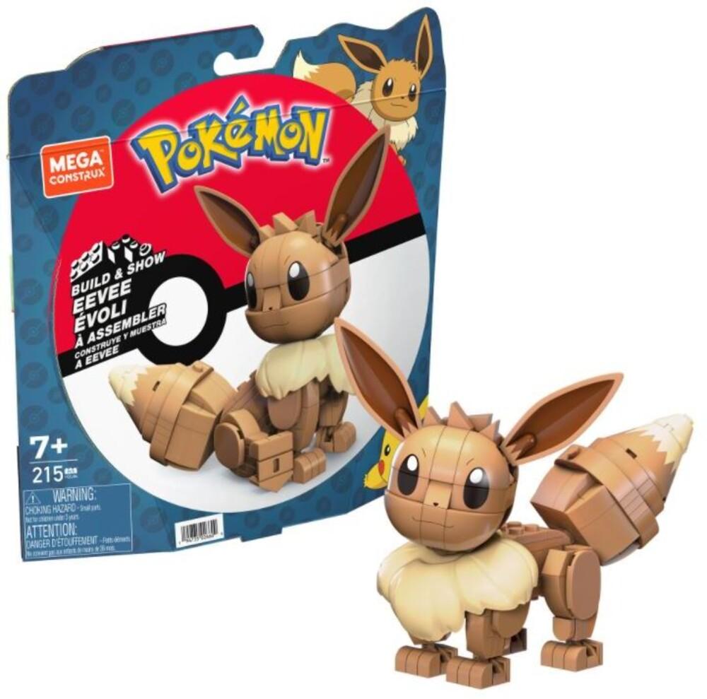 Mega Brands Pokemon - Pokemon Build & Show Eevee (Fig) (Brik)