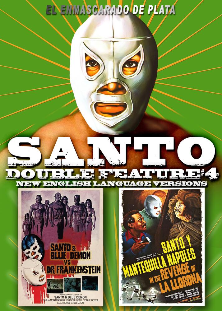 Santo Double Feature #4: Santo & Blue Demon vs. - Santo Double Feature #4: Santo & Blue Demon Vs. Dr. Frankenstein       Santo & Mantequilla In The Revenge Of La Llorona