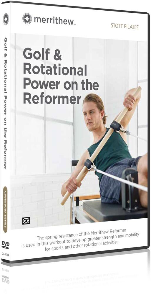 Stott Pilates Golf & Rotational Power on Reformer - STOTT PILATES Golf & Rotational Power On The Reformer