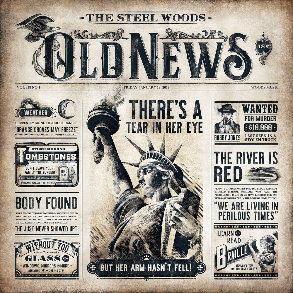 The Steel Woods - Old News [2LP]