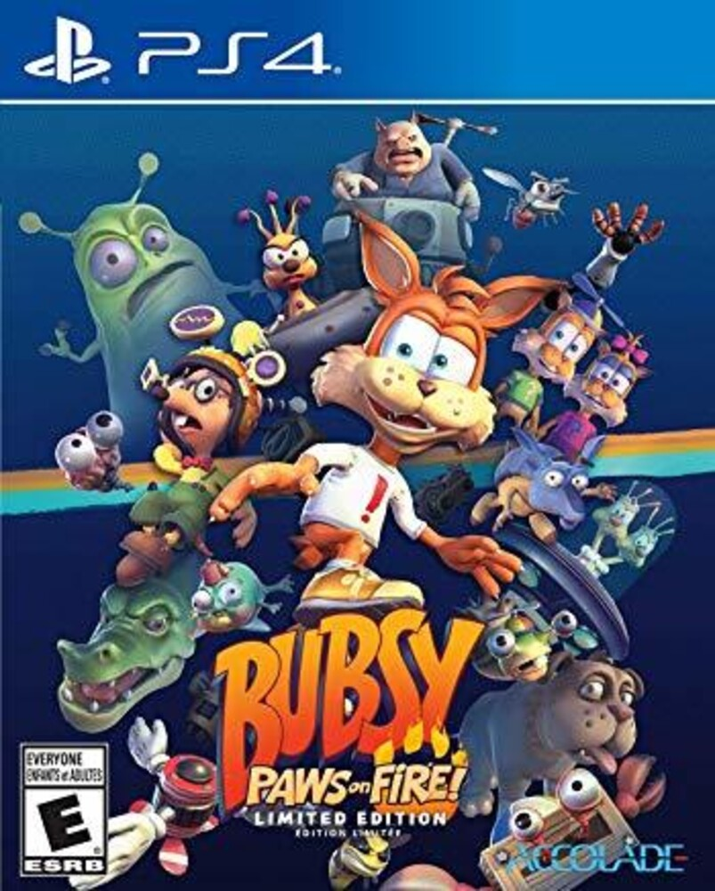 Ps4 Bubsy: Paws on Fire! Limited Ed - Bubsy: Paws On Fire! Limited Edition for PlayStation 4
