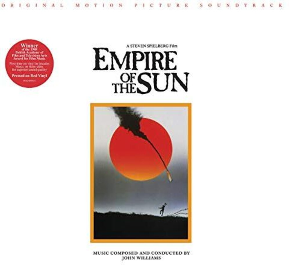 John Williams - Empire Of The Sun: Original Motion Picture [Red LP]