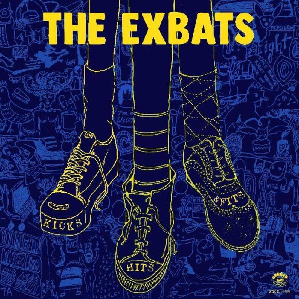 The Exbats - Kicks, Hits And Flips [LP]