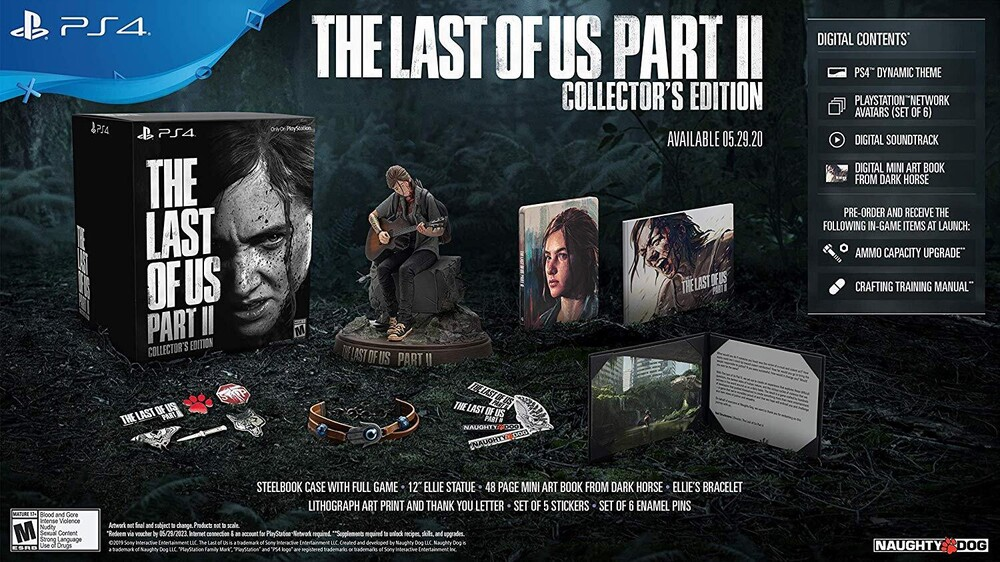 Last of Us Part II Collectors Edition - Last Of Us Part Ii Collectors Edition