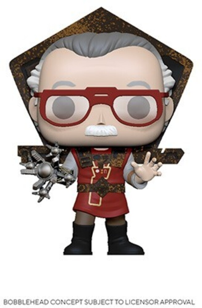 - FUNKO POP! ICONS: Stan Lee in Ragnarok Outfit