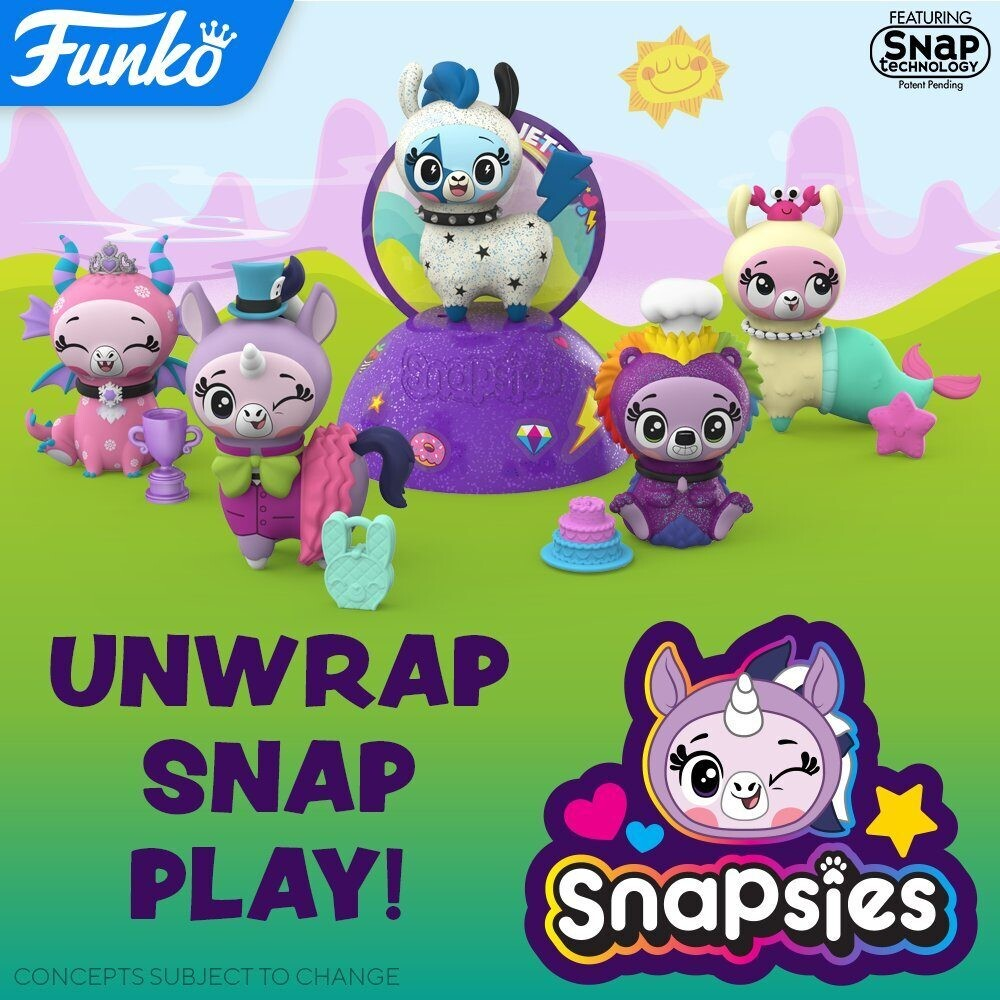 Funko Snapsies: - FUNKO SNAPSIES: Snapsies (One Random Snapsies Per Purchase)
