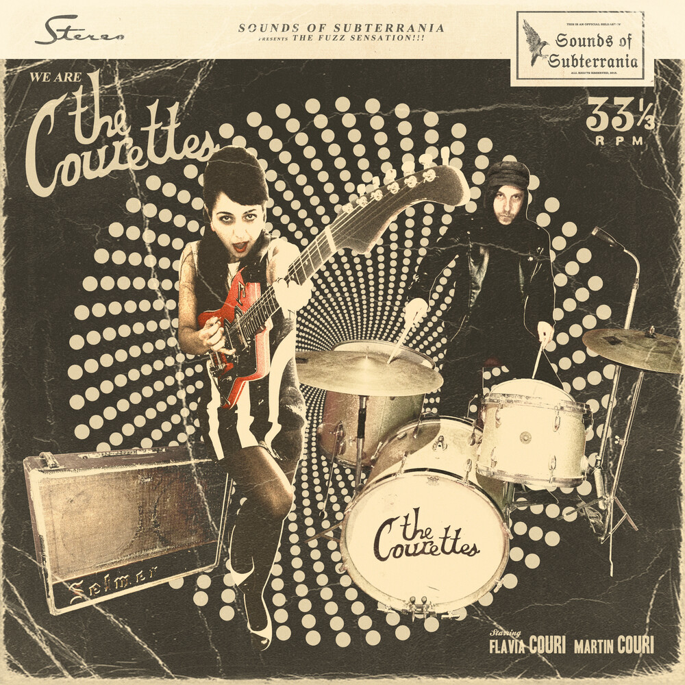 The Courettes - We Are The Courettes [Download Included]