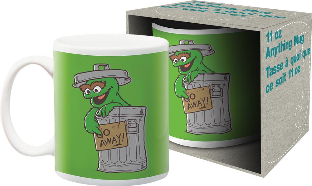 Sesame Street Oscar Go Away 11Oz Mug Boxed - Sesame Street Oscar Go Away 11oz Mug Boxed