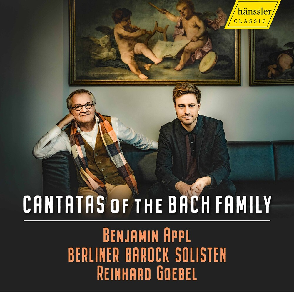 Benjamin Appl - Cantatas Of The Bach Family / Various