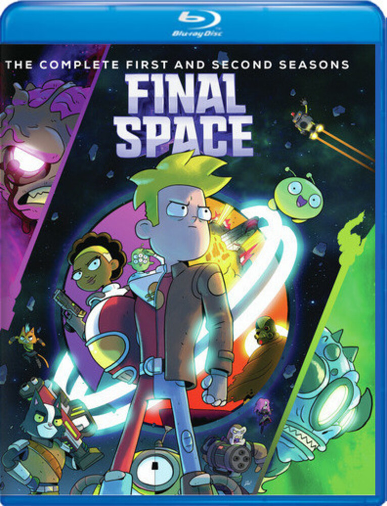 - Final Space: Complete 1st & 2nd Seasons (3pc)