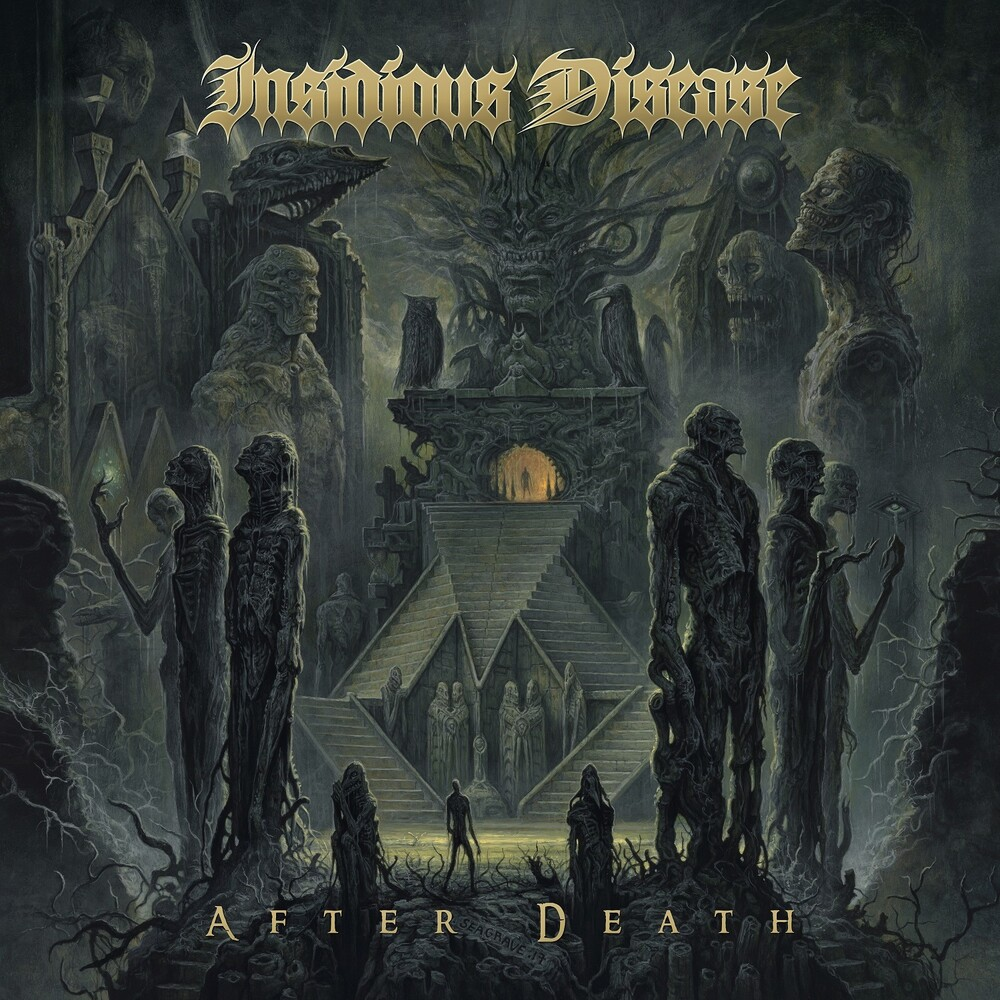 Insidious Disease - After Death (Olive/Mustard Swirl) (Colv)