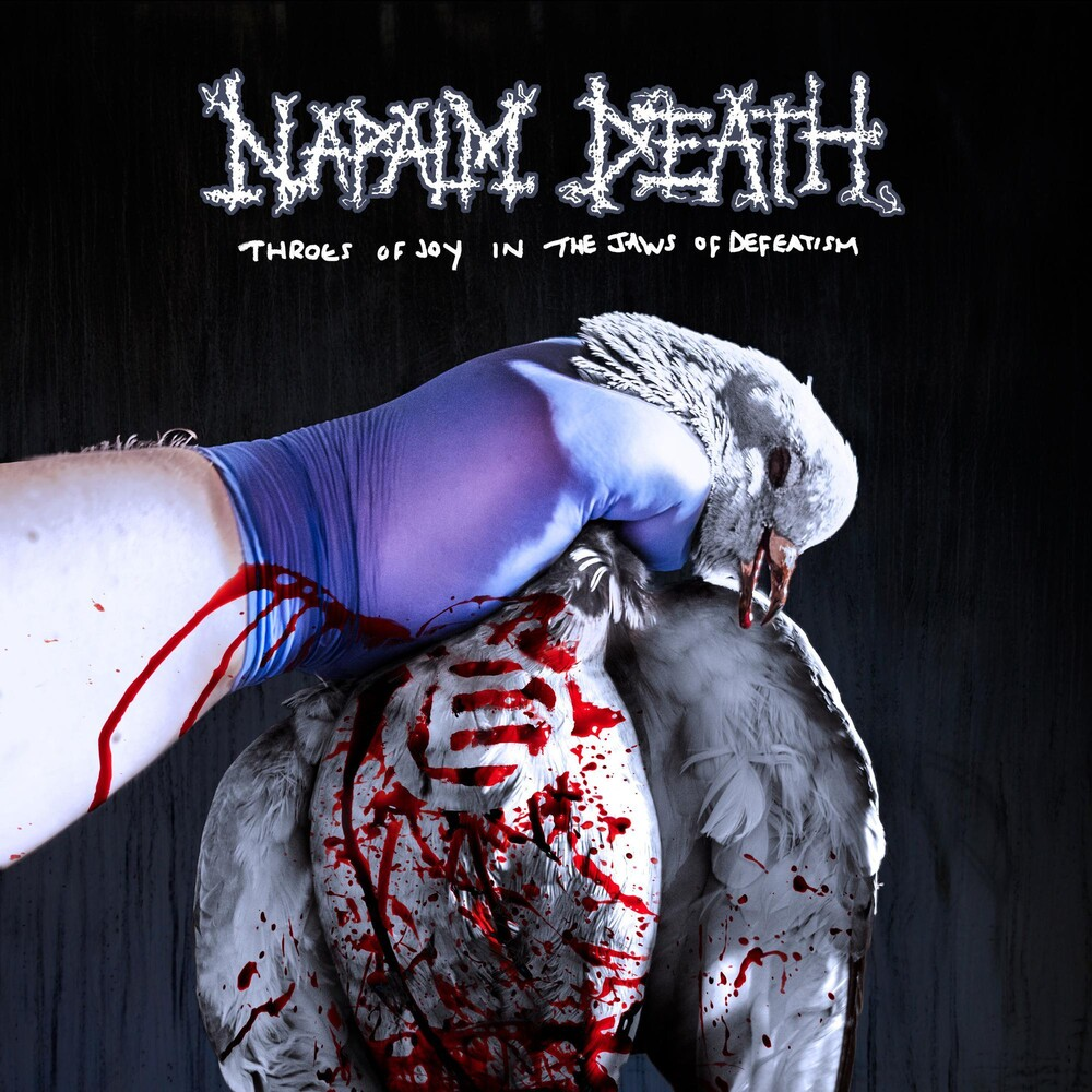 Napalm Death - Throes of Joy in the Jaws of Defeatism (Ltd. CD Mediabook & Patch)