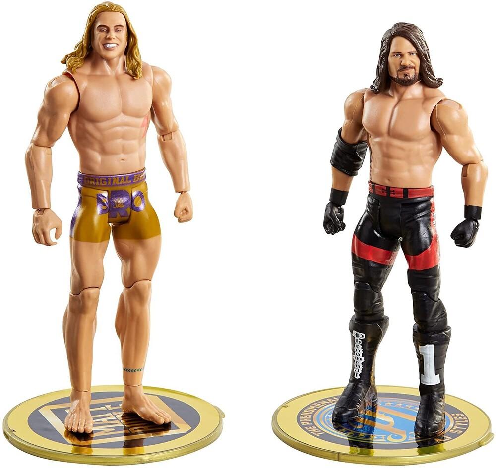 WWE - Mattel Collectible - WWE Basic Figure 2-Pack AJ Styles vs. Matt Riddle