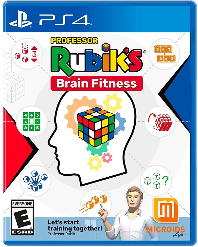 Ps4 Professor Rubik's Brain Fitness - Professor Rubik's Brain Fitness for PlayStation 4