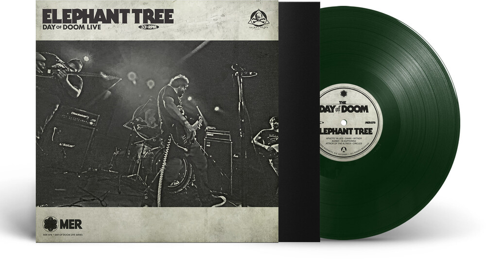 Elephant Tree - Day Of Doom Live (Dark Green Vinyl) (Grn) [Limited Edition]