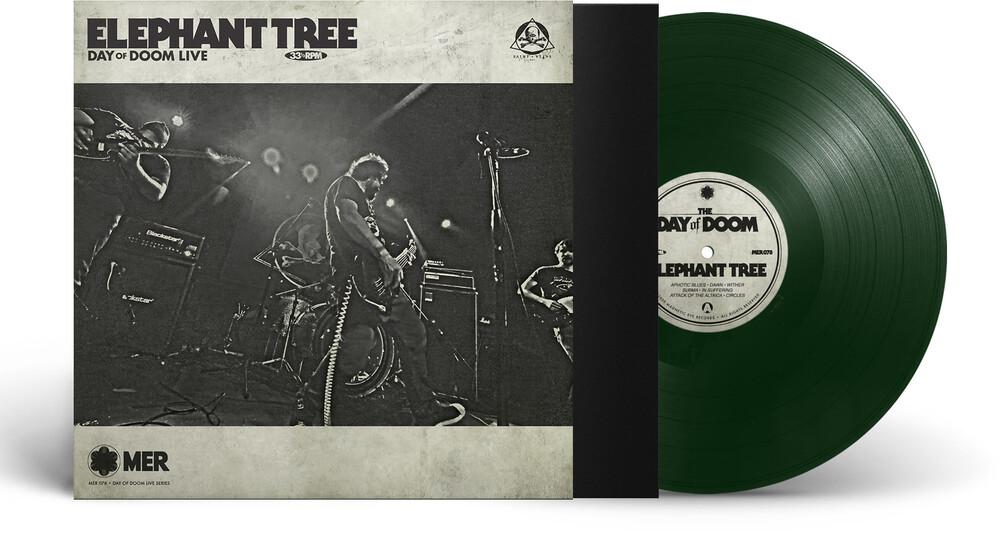 Elephant Tree - Day Of Doom Live (Dark Green Vinyl) (Grn) (Ltd)