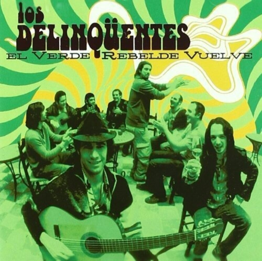 Delinquentes - El Verde Rebelde Vuelve (W/Cd) (Spa)