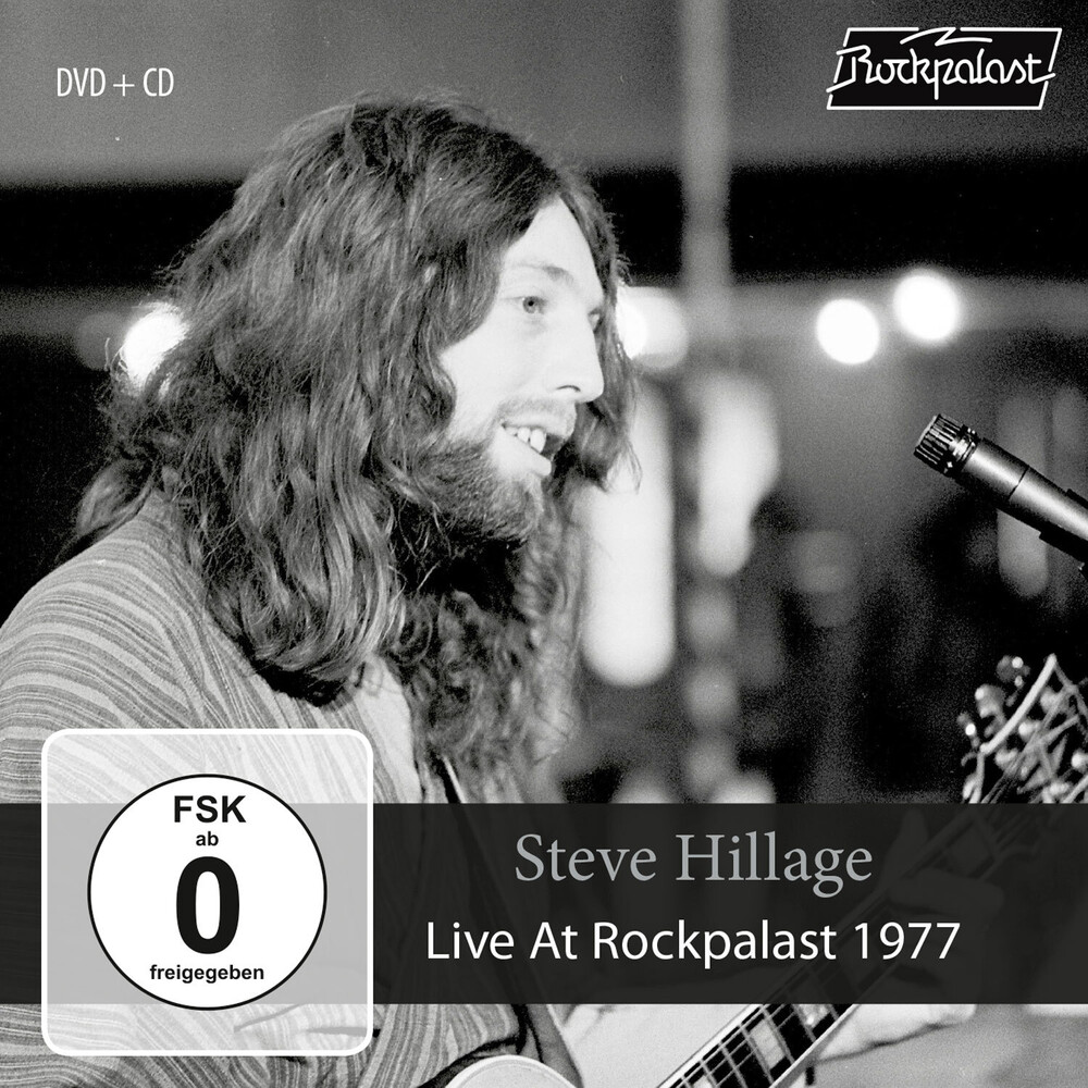 Steve Hillage - Live At Rockpalast 1977 (W/Dvd)