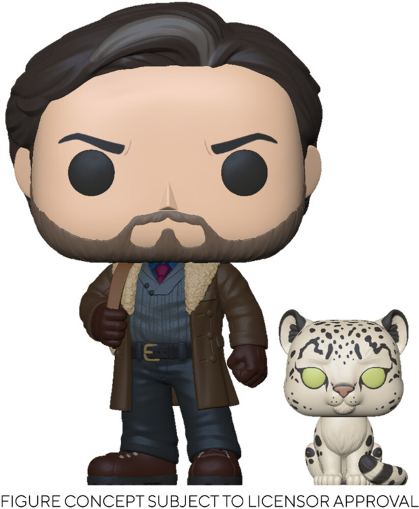 - FUNKO POP! & BUDDY: His Dark Materials- Asriel w/Stelmaria